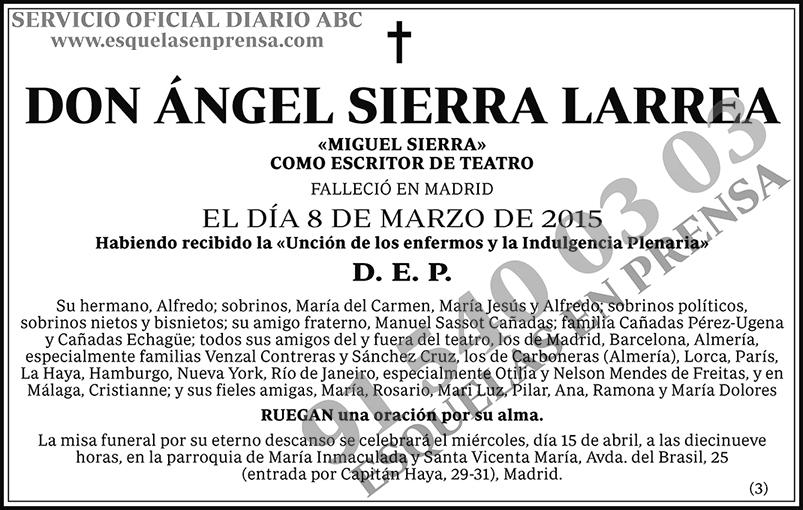 Ángel Sierra Larrea